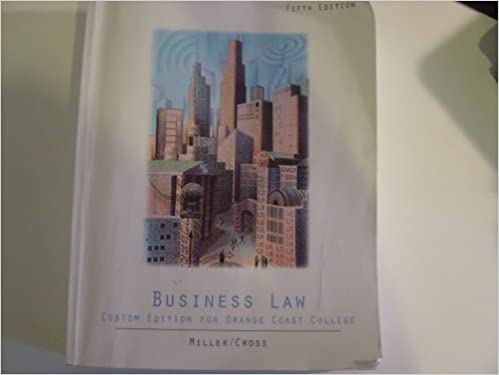 Book Business Law: Text and Cases