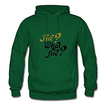 X-large Women Famous Last Words: Fire? What Fire? Diatinguish Personalized Green Cotton Hoodies