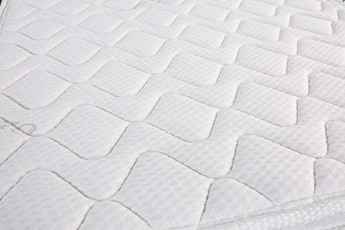 Oliver Smith - Organic Cotton - Euro Top - Revitalize Sleep - 8 Inch - Pocket Spring - Luxury Mattress w Green Memory Foam Certified - Twin by Smith & Oliver