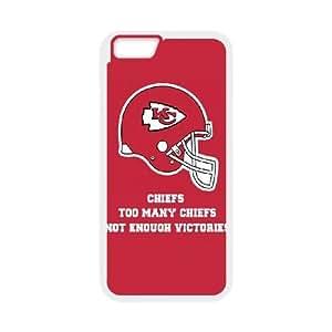 iphone6 4.7 inch Phone Case White Kansas City Chiefs JHL294253
