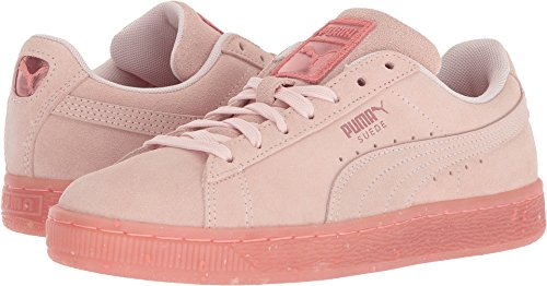 Diamond Sneaker - PUMA Women's Suede Classic Glitz Shell Pink/Shell Pink 9 B US