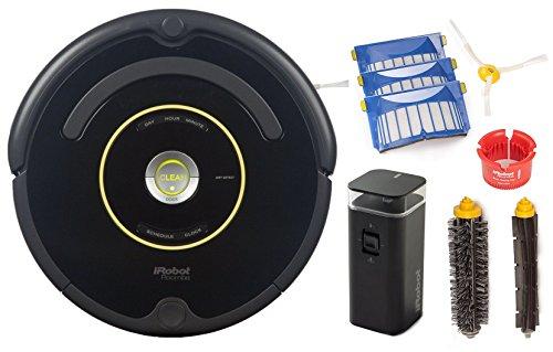 iRobot Roomba 650 Robotic Vacuum Cleaner (Vacuum Bundle)