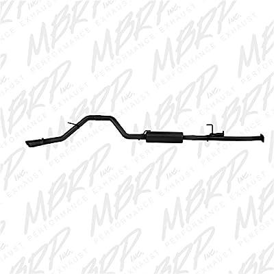 "MBRP S5314BLK Black Coated 3"" 3"" Single Side Cat Back: Automotive"