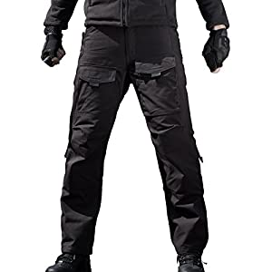 FREE SOLDIER Men's Tactical Pants Four Seasons Scratch-resistant Multi-pocket Duty Pants