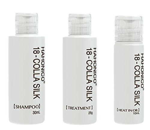 Hahoniko Happy Life Hahoniko Kola Silk 18 mini set shampoo 30ml, treatment 25g, oil (Speedy 30 Mini)