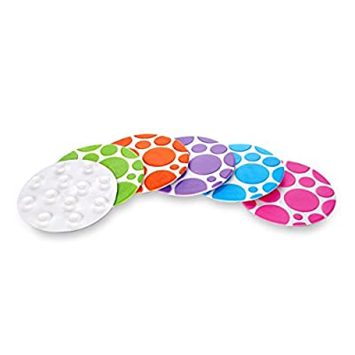 Munchkin Bathtub Grippy Dots, 6 Count : Water Squirting Toys : Baby