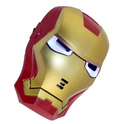 Iron Man LED light face mask Avengers cosplay toy Mask TH-01 (japan - Th Face