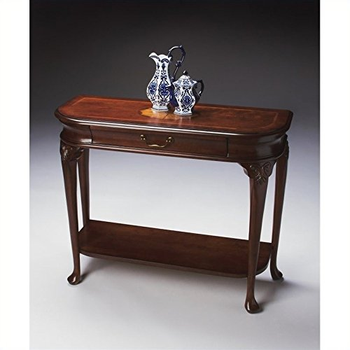 BUTLER 2110024 RIDGELAND PLANTATION CHERRY CONSOLE TABLE