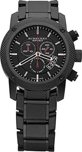 Burberry Mens Endurance Sport Black Chronoraph Watch - Trend Burberry
