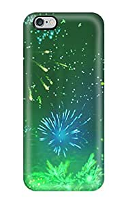 Hot New Green Fireworks Case Cover For Iphone 6 Plus With Perfect Design by runtopwell