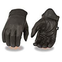 Deals on Milwaukee Leather MG7510 Mens Short Wrist Leather Gloves