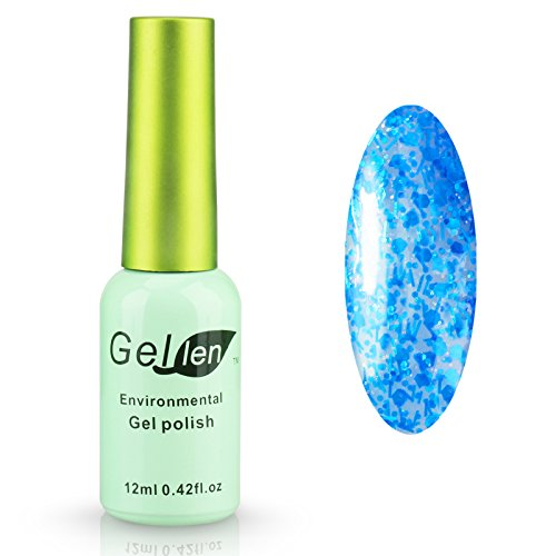 Gellen Gel Polish UV Gel Colors Nail Art 12ml 1Pc Green Bott