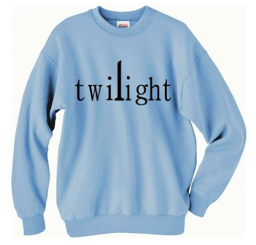 Twilight Series Sweatshirt (Medium, Light Blue)