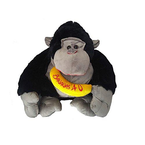 Valentine's Day Gift Plush Gorilla Monkey Stuffed Animal - Large size - Bananas 4 U