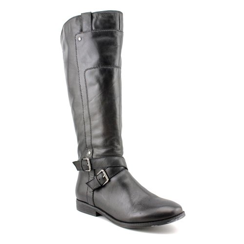 Marc Fisher Artful Womens 5 Black Leather Fashion - Knee-High Boots New/Display (Marc Fisher Artful compare prices)