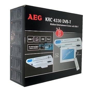 AEG XXL-Unterbau DVB-T+Radio+Wecker TV LCD für: Amazon.de: Elektronik