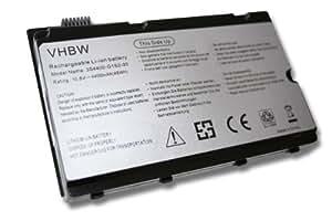 vhbw Li-Ion BATERÍA negro compatible con FUJITSU-SIEMENS sustituye 3S4400-S1S5-05, 3S4400-S1S2-05, 3S4400-G1S5-05, 3S4400-G1L3-05, 63GP55026-9A XF.