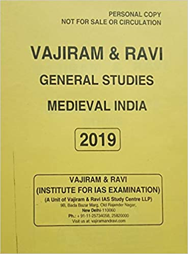 Amazon in: Buy VAJIRAM & RAVI - (GENERAL STUDIES) MEDIEVAL INDIA