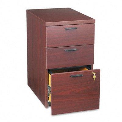 (HON 105102NN 10500 Series 28-Inch Mobile Box File Pedestal, Mahogany)