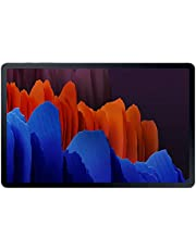 Samsung Galaxy Tab S7+, Android Tablet Met Pen, WiFi, 3 Camera's, Grote 10.090 mAh Batterij, 12,4 inch Super AMOLED-Display, 256 GB/8 GB RAM, Tablet In Zwart