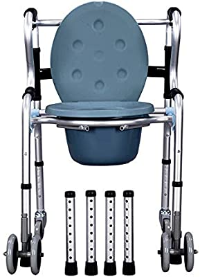 ZYDSD Andador Equipo de rehabilitación para sillas de Inodoro para ...