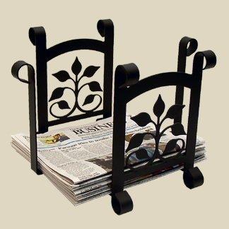 Newspaper Recycle (17.5 Inch Leaf Fan Newspaper Recycle Bin)