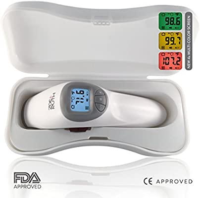 PREVE Non Contact Infrared Medical Clinical Forehead Thermometer for Babies,Infa