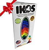 IKOS -Multi-Color Rainbow- Spherical Building Blocks- Fabulous Creative Outlet & Endless Possibilities