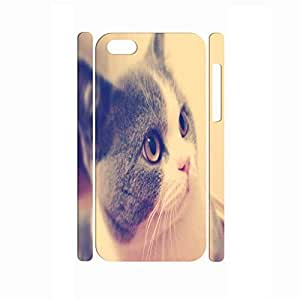 TYHde Inspirational Hipster Antiproof Animal Series Cat Pattern Skin for Iphone 6 4.7 Case ending