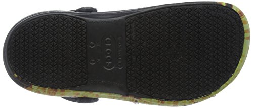 Crocs Unisex Bistro Graphic Clog Black