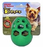 JW Pet Company Teeny Bopper Treat Dispensing Dog Toy, Small (Colors Vary)