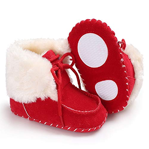 Pictures of Fnnetiana Newborn Baby Warm Winter Snow Boots 3