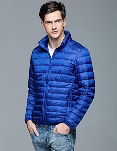 Unico Piumino Di Facile Sportiva Cappotto Autunno Caldo Uomini Inverno Trapuntata Packable Di Tuta Degli Ultra Blau Di Rm E Iw1IaSrqzB