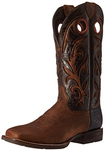 Ariat Mens Barstow Western Cowboy Boot Branding Iron Rust jZ5XCR2U