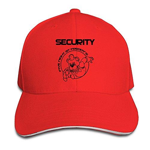 Hotgirl4 Adult Five Nights At Freddy Sandwich Bill Baseball Hat Red