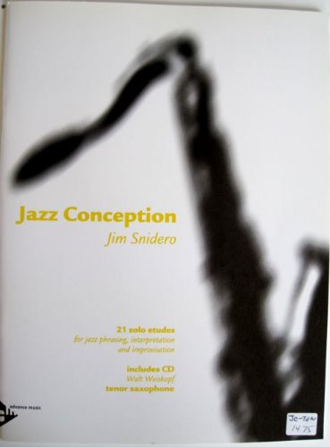 Jazz Conception Tenor Saxophone with CD