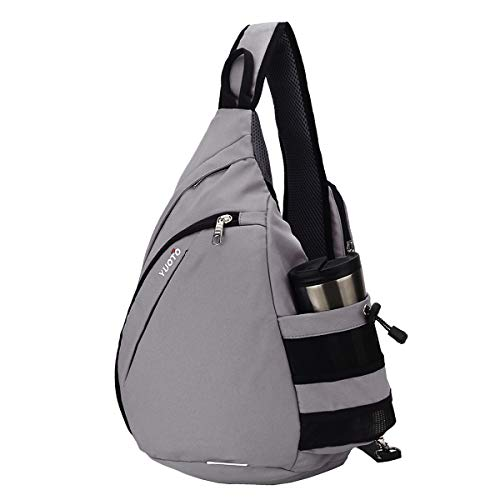 YUOTO Sling Backpack One Strap Crossbody Shoulder Sling Bag ()