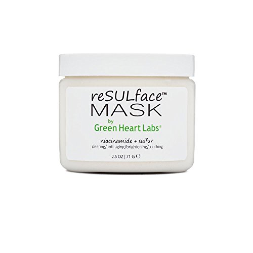 reSULface Body & Face Mask, Pure and Potent Nutrient & Clay Powder with Sulfur, Zinc, and Niacinamide, Anti Acne & Anti Aging