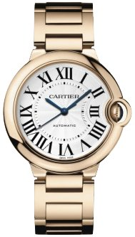 Cartier Ballon Bleu Medium 18k Rose Gold Watch W69004Z2