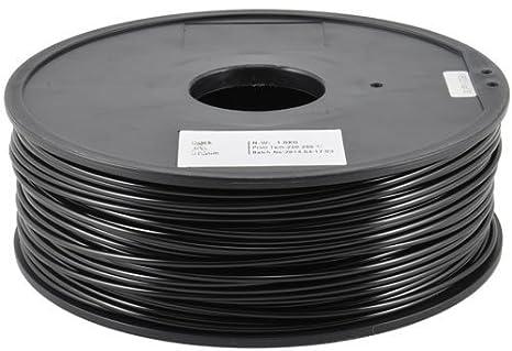 Pla negro para impresoras 3d - 1 kg - 1,75 mm - Bobina de 1 kg de ...
