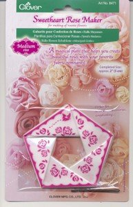Clover Medium Sweetheart Rose Makers (3 Pack)