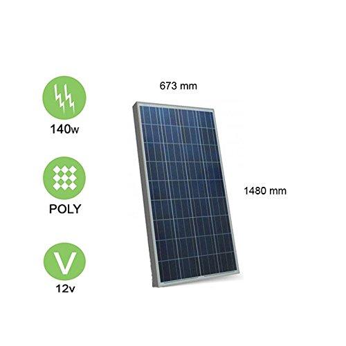 Solarpanel 140W-12V Polykristallin–Victron Energy