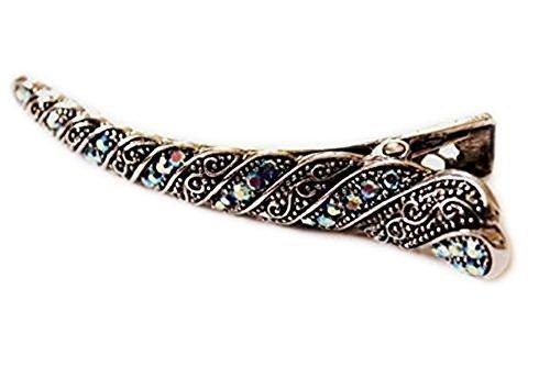 Haarspange Schöne Braut Flamingo Haarspange Lang Vintage Stil Mit Steinen