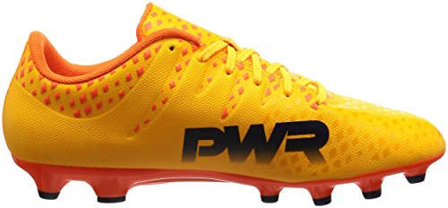 Bota de fútbol Puma evoPOWER Vigor 3 AG Ultra yellow-Peacoat-Orange clown fish Ultra yellow-Peacoat-Orange clown fish