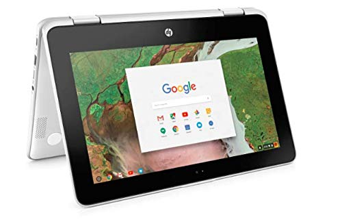 Newest HP 2-in-1 Business Chromebook 11.6in HD IPS Touchscreen, Intel Celeron N3350...