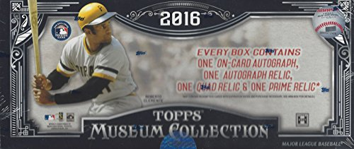 Collection Hobby Box (1 (One) Box - 2016 Topps Museum Collection Baseball Hobby Box)