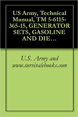 Gratis at downloade bøger på google bøger US Army, Technical Manual, TM 5-6115-365-15, GENERATOR SETS, GASOLINE AND DIESEL ENGINE DRIVEN, TRAILER MOUN PU-236A/G, PU-236/G, (NSN 6115-00-393-1709), ... (6115-00-738-6342), PU-409/M, (6115-00 B003WJRNX8