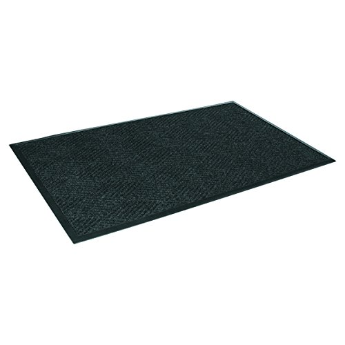 Crown S1R046CH Super-Soaker Diamond Mat, Polypropylene, 45 x 70, Charcoal ()