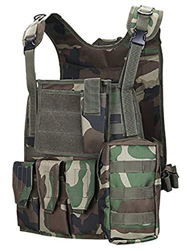 ThreeH Gilet tactique militaire Paintball équipement de police équipement de protection 2