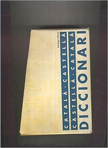 Diccionari catala-castella / castella-catala : estuche archivador: Amazon.es: Santiago Alberti: Libros